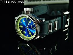 Invicta Men's 1434 Russian Diver Blue Dial Stainless Steel W