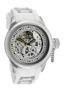 Invicta 1821 Russian Diver Mechanical Skeleton Dial Silicone