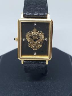 18K SOLID GOLD IMPERIAL RUSSIAN ARMY VINTAGE WATCH