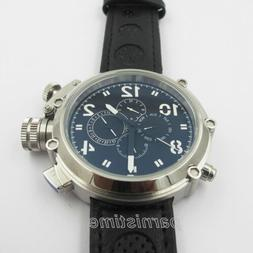 50mm Automatic Movement Men Russian Military Watch 24-Hours