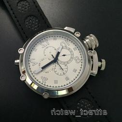 50mm Parnis Automatic Movement Men Russian Military Watch 24