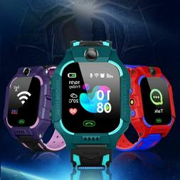 Kids Smart Watch LBS Positioning Lacation SOS Camera Phone V