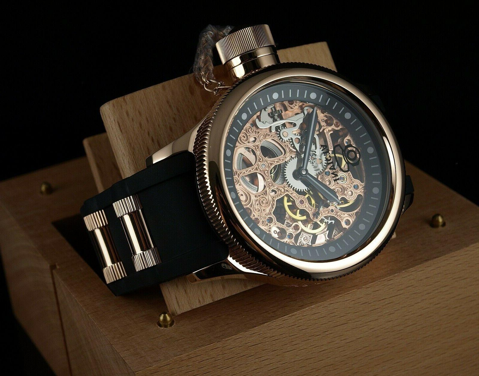 1090 russian diver rose gold
