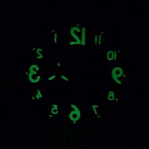 Parnis 50mm Chronograph Mens Russian Canteen Homage