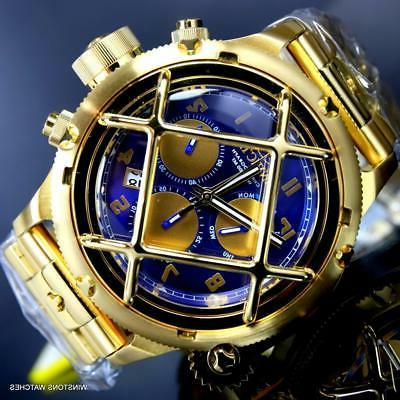 russian diver nautilus cage gold plated steel