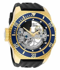 Invicta Men's Russian Diver Automatic 3 Hand Blue Dial Watch