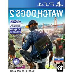PS4 Watch Dogs 2 PlayStation 4 game New region free English,