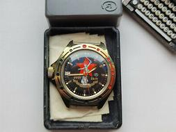 Rare COLLECTIBLE Watch RUSSIAN VOSTOK 50 years VICTORY WW2 N