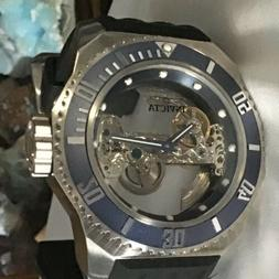 Invicta Russian Diver Ghost Automatic Skeletonized Dial Sili