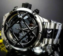 russian diver nautilus cage stainless steel black