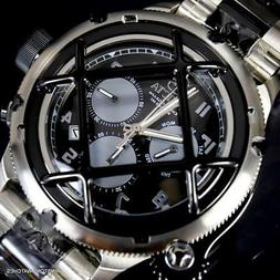 Invicta Russian Diver Nautilus Cage Stainless Steel Black Ch