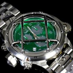 Invicta Russian Diver Nautilus Caged Swiss Mvt Steel Green 5
