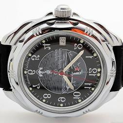 RUSSIAN  VOSTOK  KOMANDIRSKIE 211831 SUBMARINE MILITARY WATC