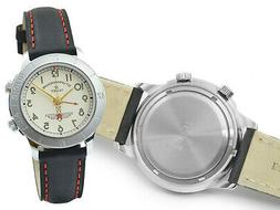 RUSSIAN WATCH GAGARIN POLJOT 2612 ALARM STURMANSKIE NOS US