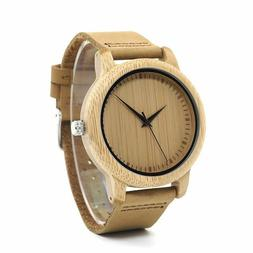 Timepieces Bamboo Couples Watches Handmade Natural Wood Luxu