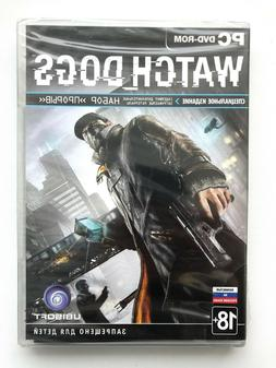 WATCH DOGS Special Edition DVD Case Russian Cover Brand NEW